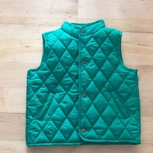 Janie and Jack Quilted Puffer Vest